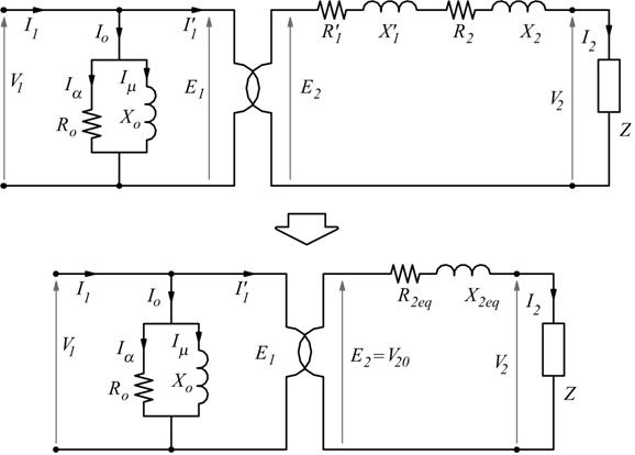 Schema Elettrico Trasformatore : Trasformatore elettrico